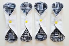 dagbindor-vit-gul-tidning-mönster-harry-potter